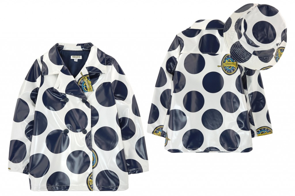 Kenzo kids spring summer 2016 raincoat
