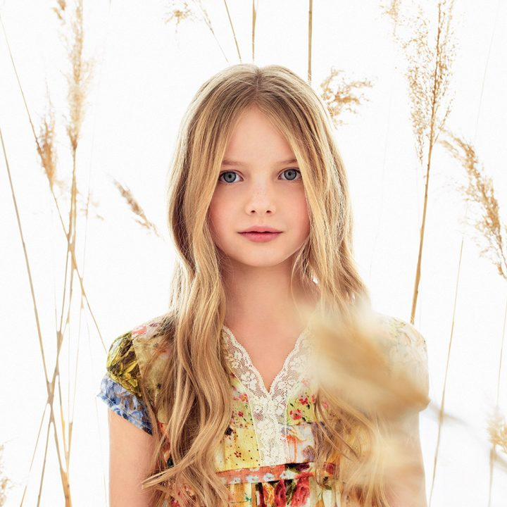 Twin-set girl spring summer 2016 flowers