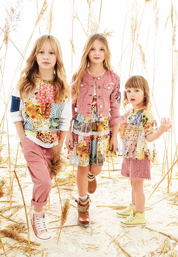 best sneakers 79c43 6f889 Twin-set girl spring summer 2016 flowers - Fannice Kids Fashion