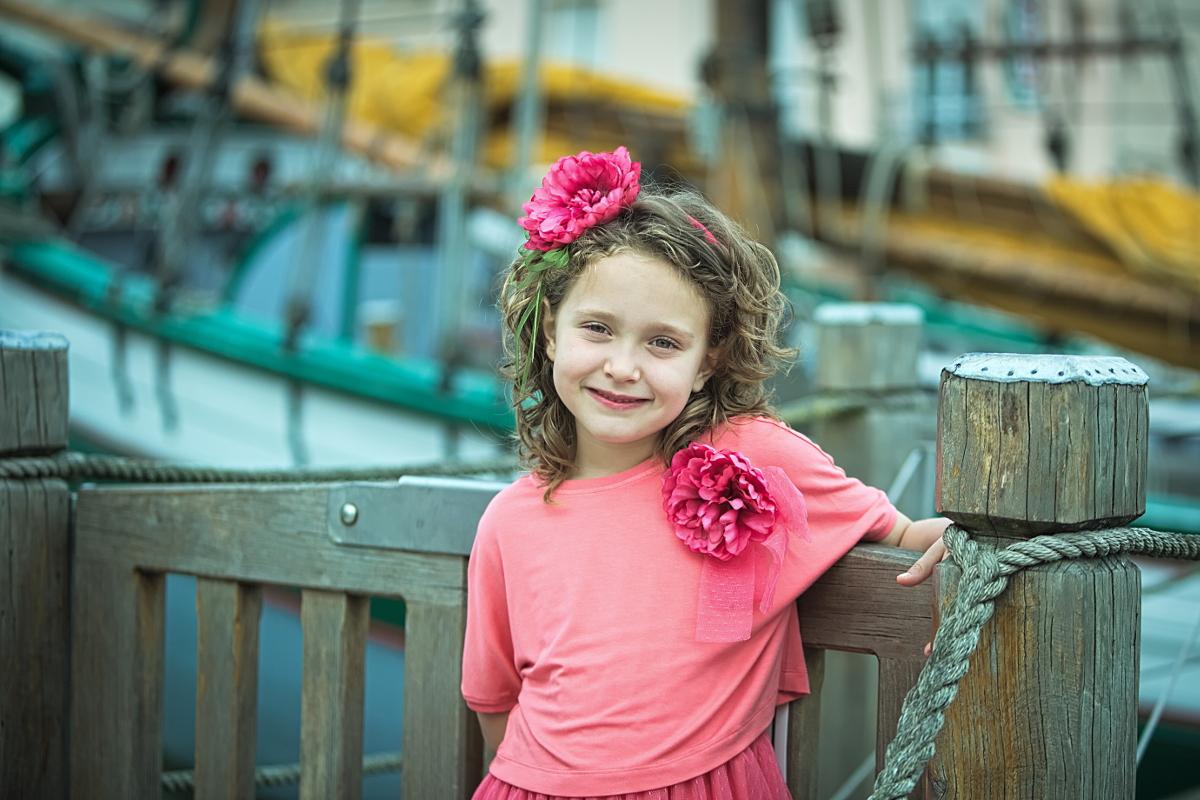 Aletta spring summer 2016 coral dress