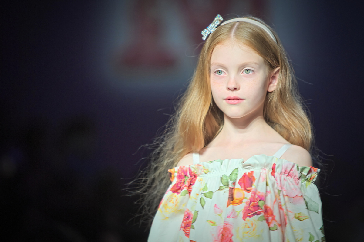 Monnalisa fashion show during pitti bimbo 83