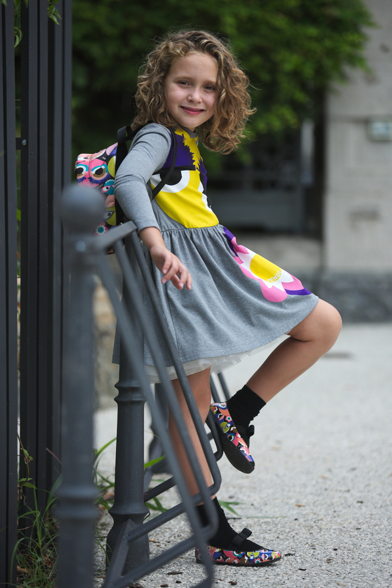 Fendi kids back to school 2016 collection with monsters