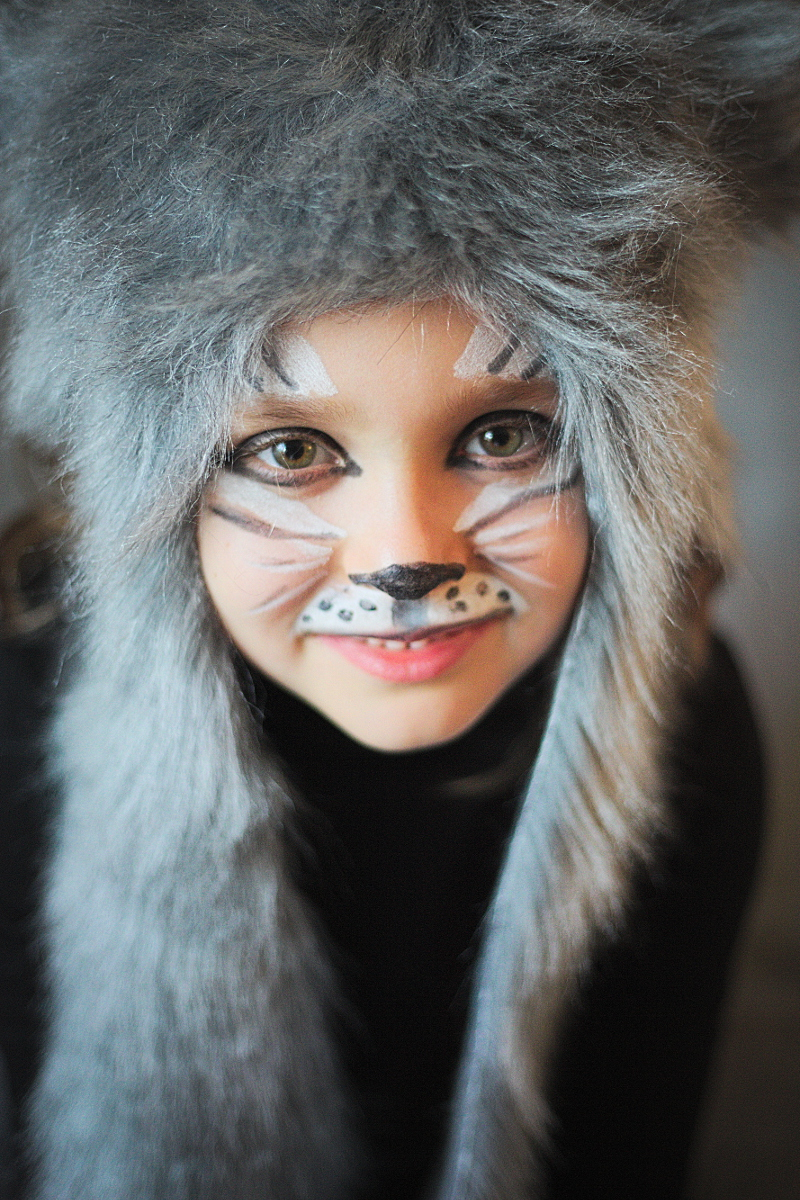 DIY Halloween kids costumes the wolf