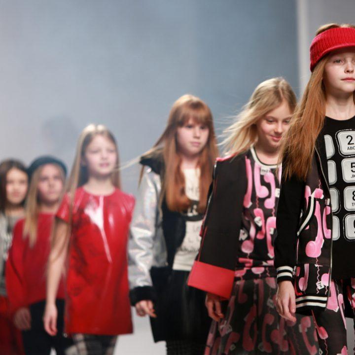 Yclu fashion show during Pitti Bimbo 84