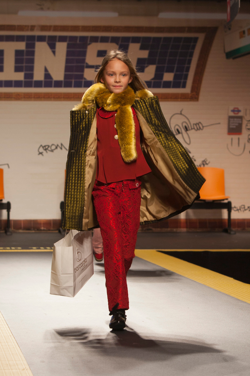 Children's fashion from Spain event at Pitti Bimbo 84