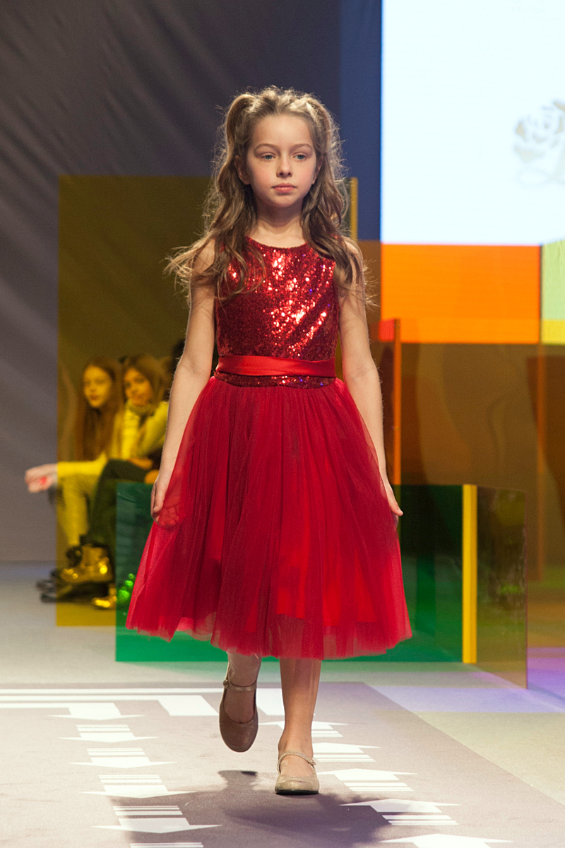 KidzFizz fashion show during Pitti Bimbo 84