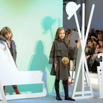 Apartment fashion show during Pitti Bimbo 84