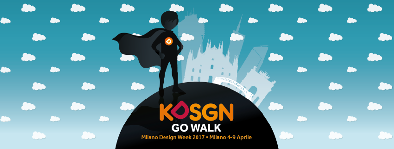 Design Week 2017 for kids KDSGN go Walk