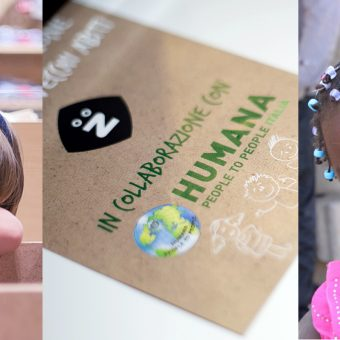 Z and Humana for the Mozambican children in need