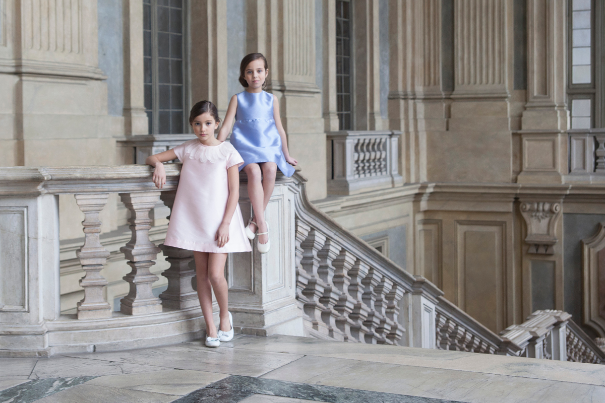 Around Palazzo Madama Turin Lanvin Enfants spring summer 2017
