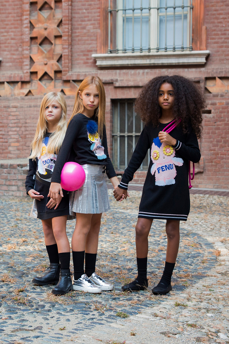 Fendi kids back to school 2017