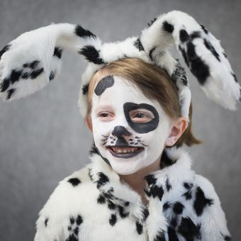 DIY Halloween kids costumes dalmatian