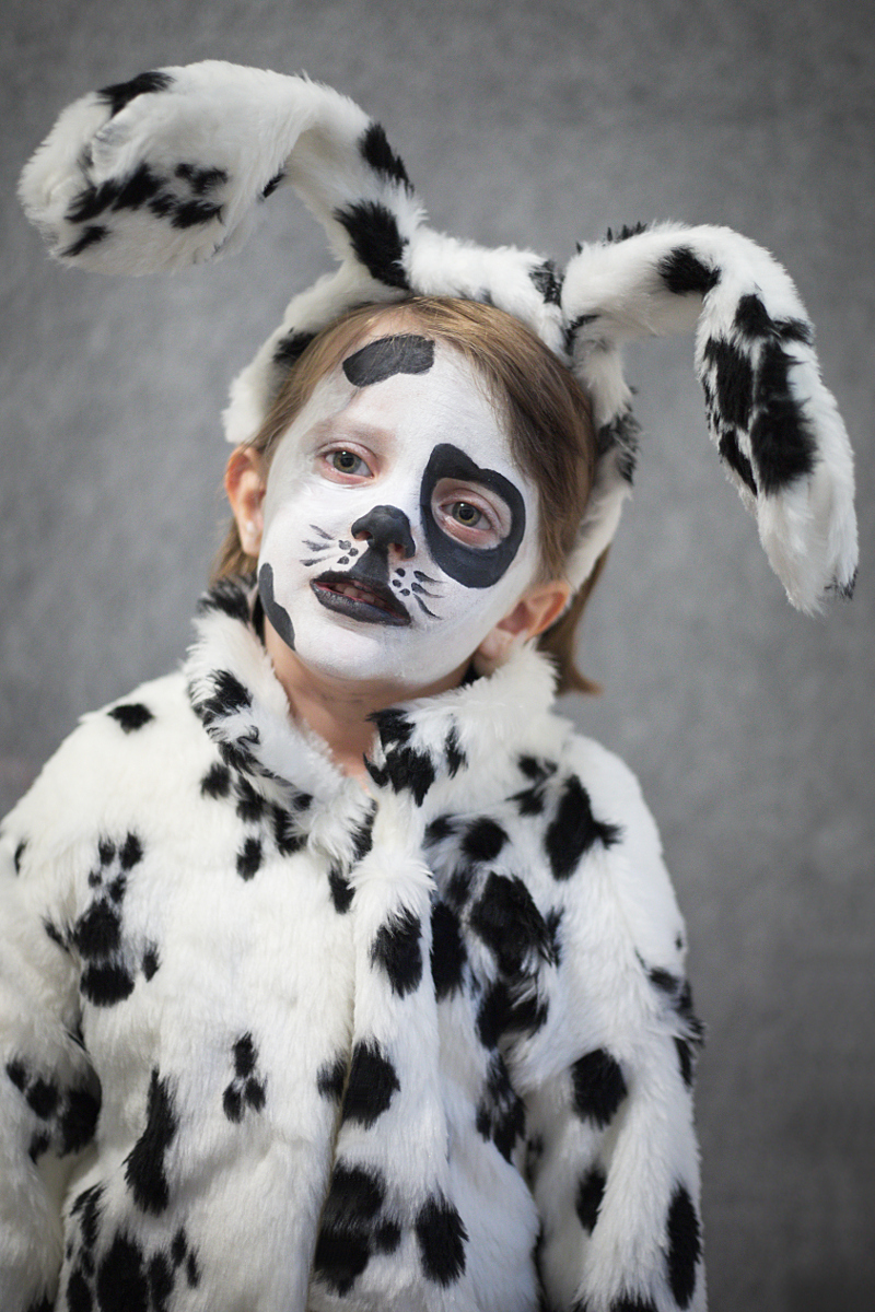 DIY Halloween kids costumes dalmatian