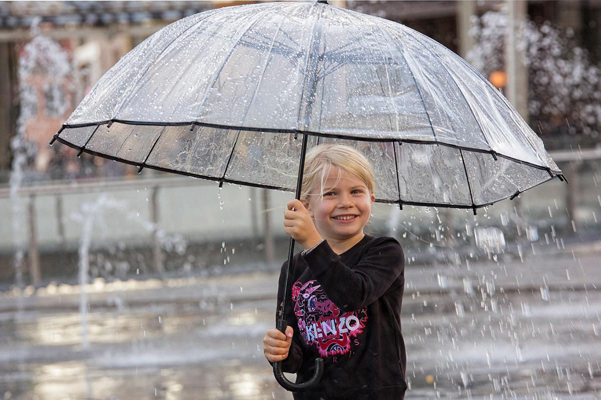 Autumn in Milan: let it rain