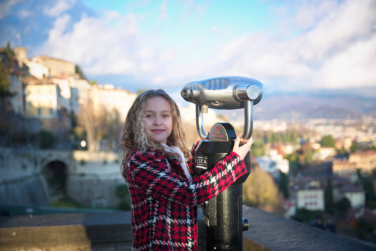 Autumn in Bergamo: visiting the high city with Elsy girl 2017