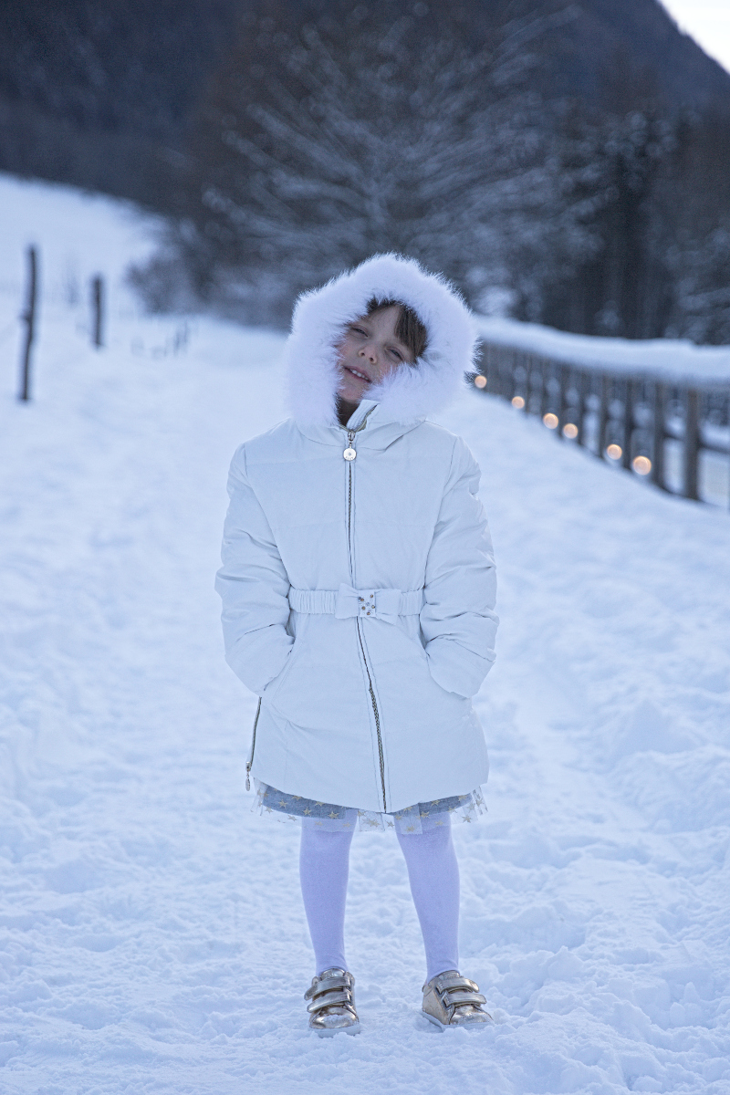 Snow attire Elsy baby fall winter 2017