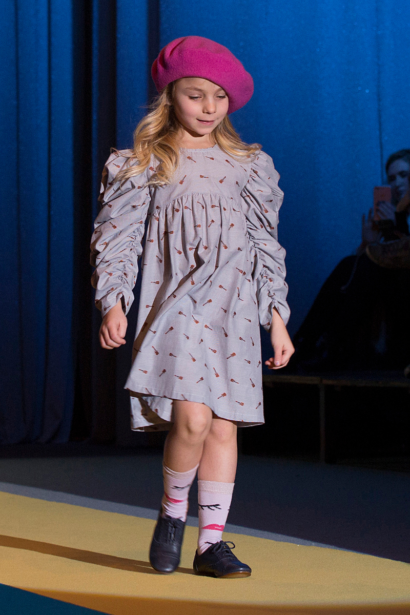KidzFizz fashion show during Pitti Bimbo 86