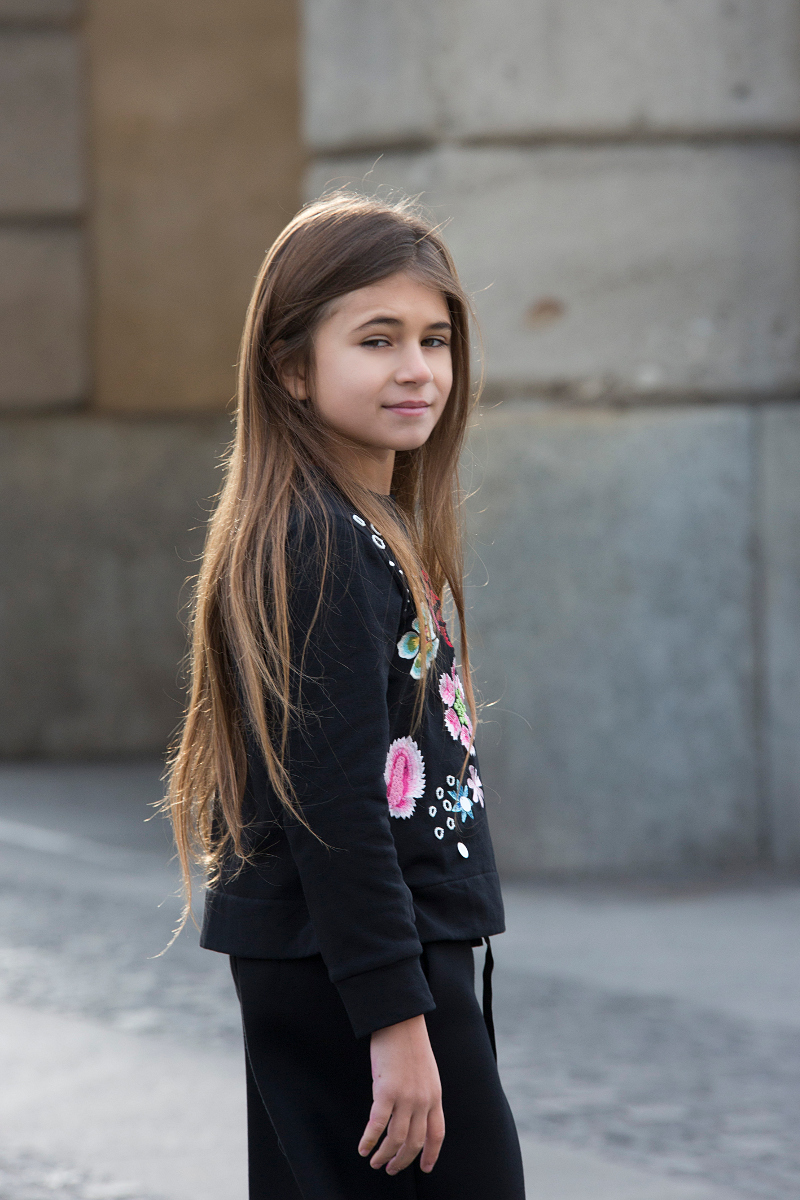 Street style with Simonetta fall winter 2018