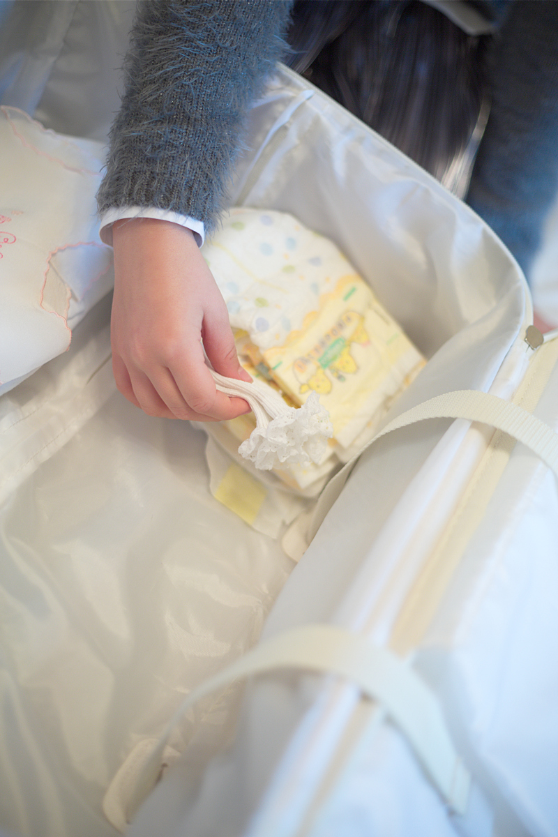 What to pack in the hospital bag for the baby