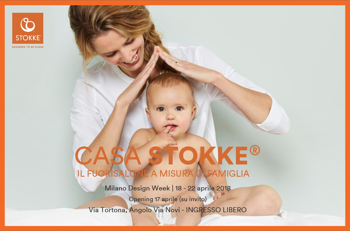 Design Week 2018 for kids Cosa fare con i bambini al Fuorisalone 2018 Casa Stokke