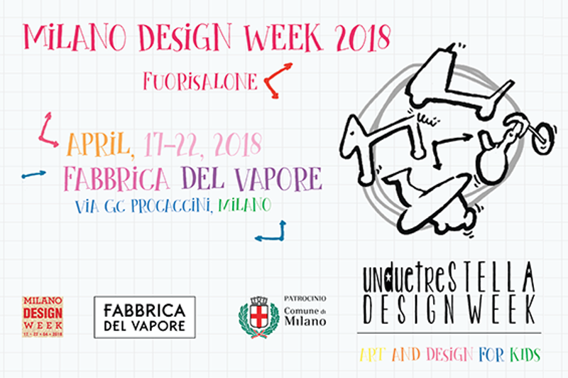 Design Week 2018 for kids Cosa fare con i bambini al Fuorisalone 2018 Unduetrestella