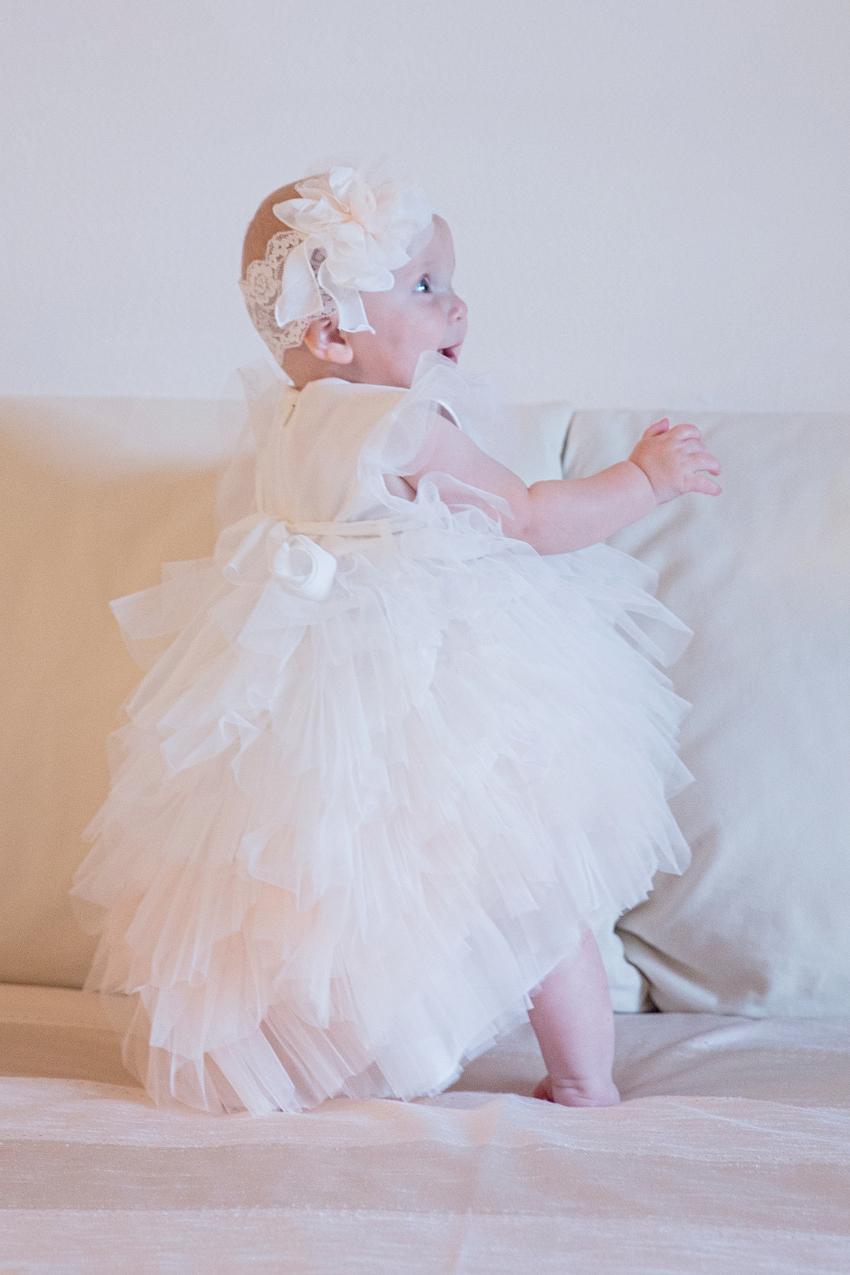 Aurora's baptism Aletta spring summer 2018 ceremony