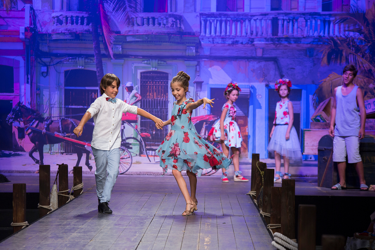 Children's fashion from Spain Pitti Bimbo 87 and Spring Summer 2019 kids fashion trends from Spain Amaya