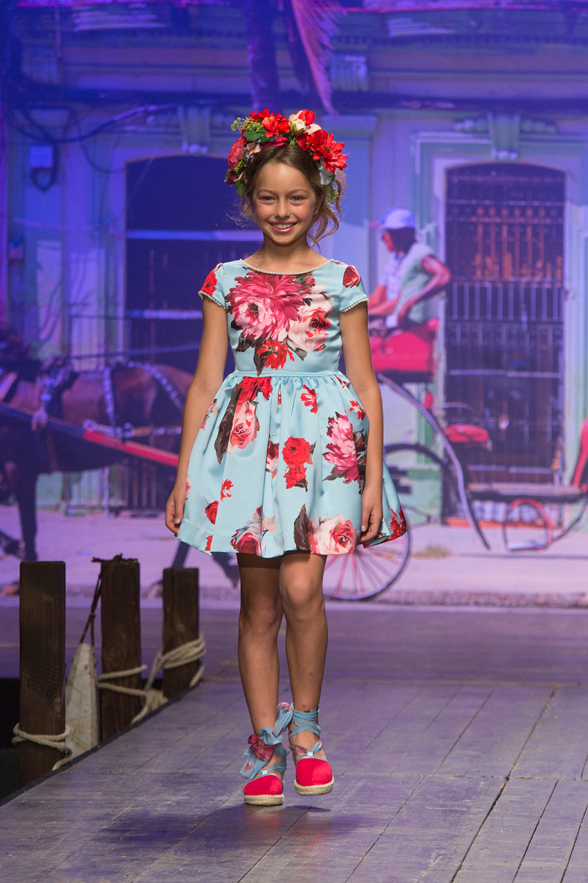 Children's fashion from Spain Pitti Bimbo 87 and Spring Summer 2019 kids fashion trends from Spain