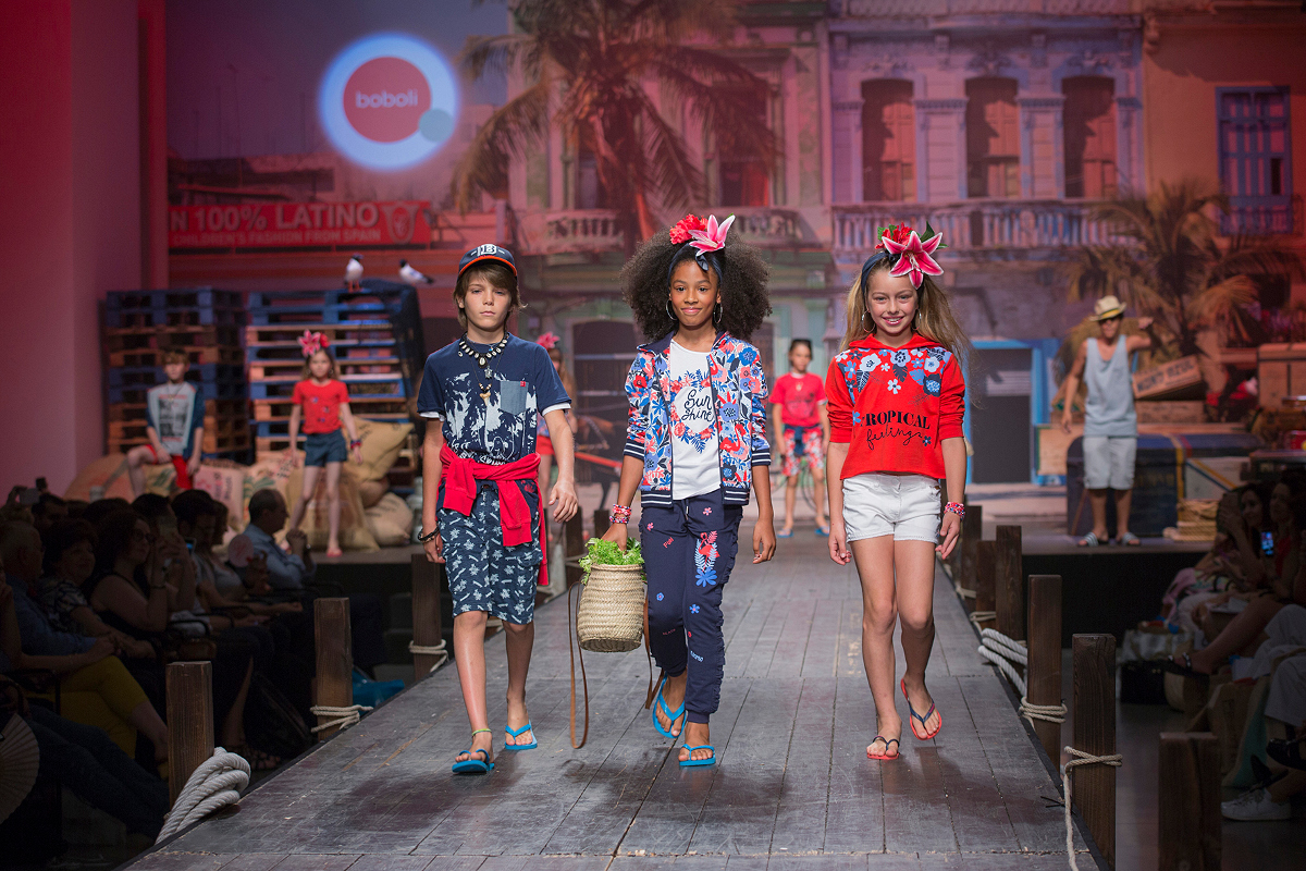 Children's fashion from Spain Pitti Bimbo 87 and Spring Summer 2019 kids fashion trends from Spain Boboli