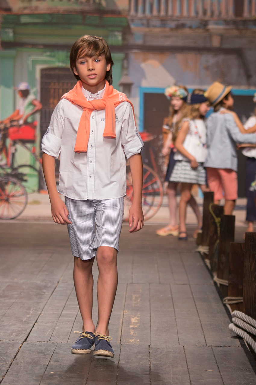 Children's fashion from Spain Pitti Bimbo 87 and Spring Summer 2019 kids fashion trends from Spain Foque