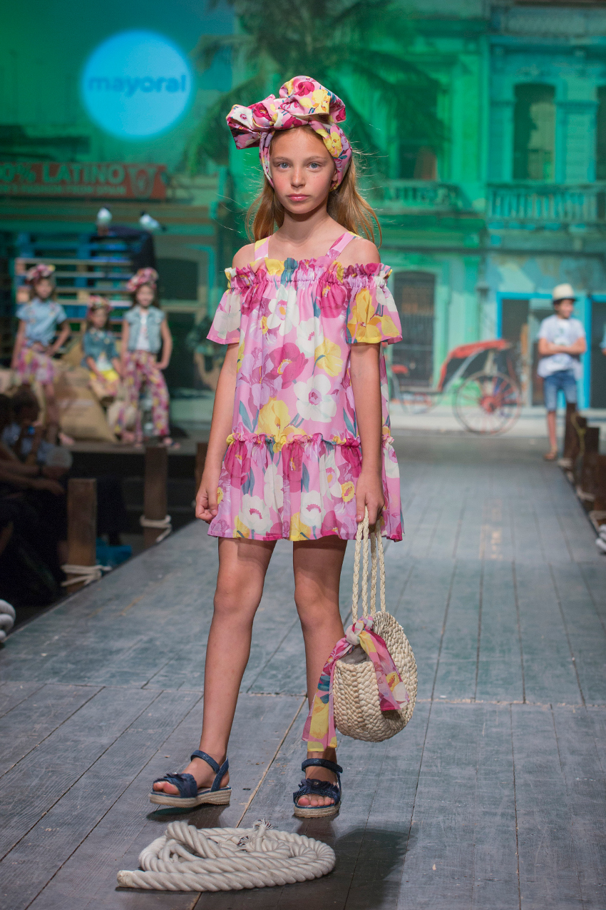 Children's fashion from Spain Pitti Bimbo 87 and Spring Summer 2019 kids fashion trends from Spain Mayoral