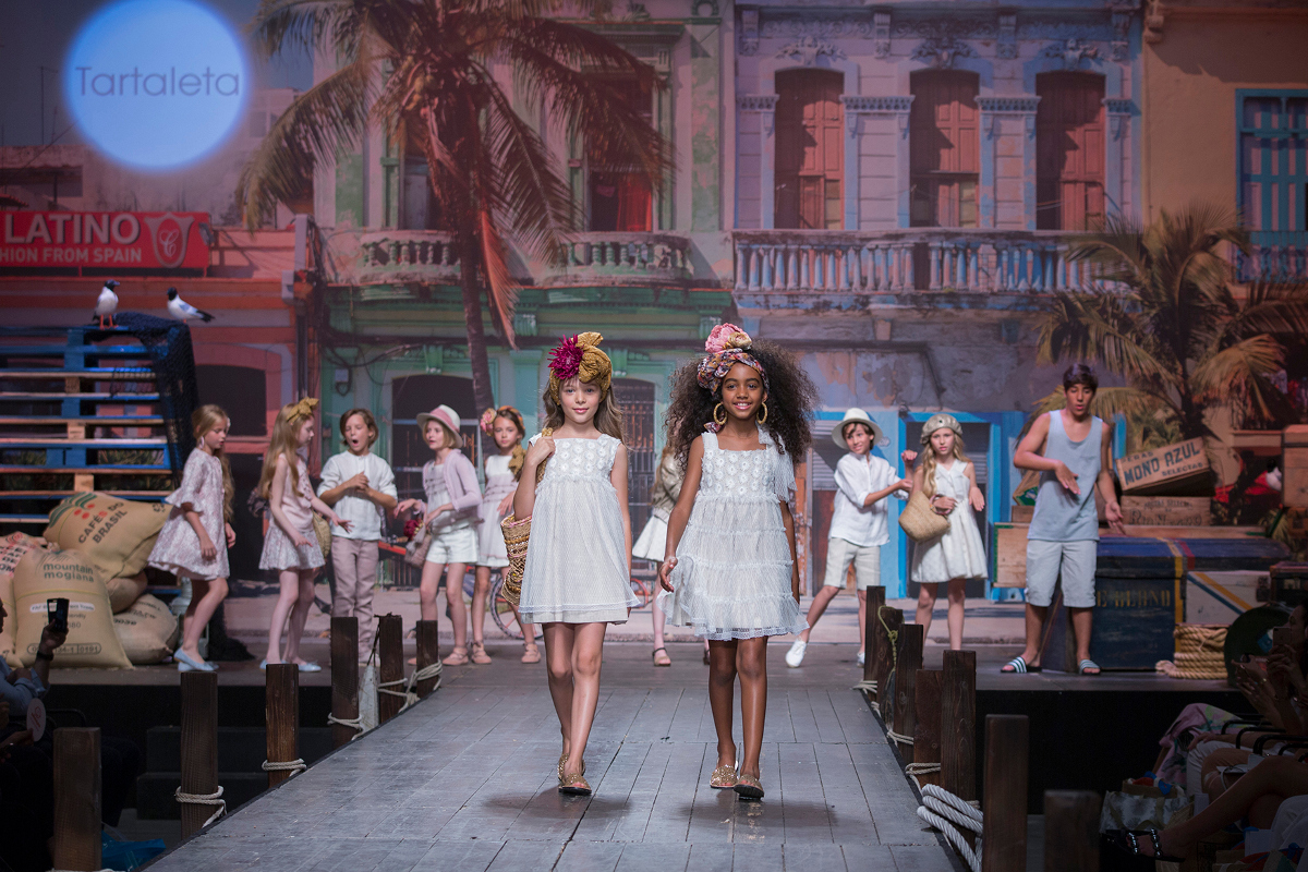 Children's fashion from Spain Pitti Bimbo 87 and Spring Summer 2019 kids fashion trends from Spain Tartaleta