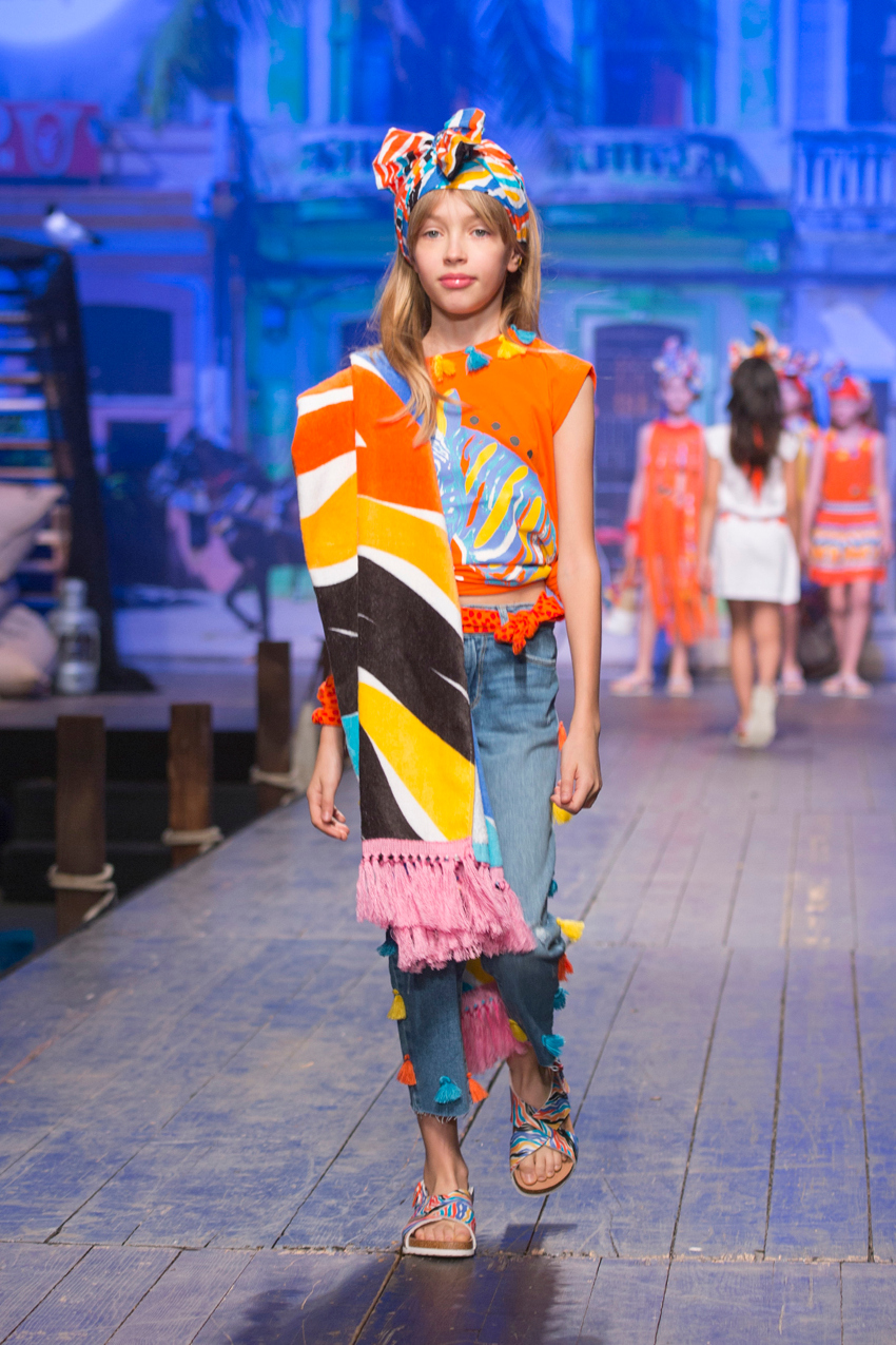 Children's fashion from Spain Pitti Bimbo 87 and Spring Summer 2019 kids fashion trends from Spain Tuc Tuc