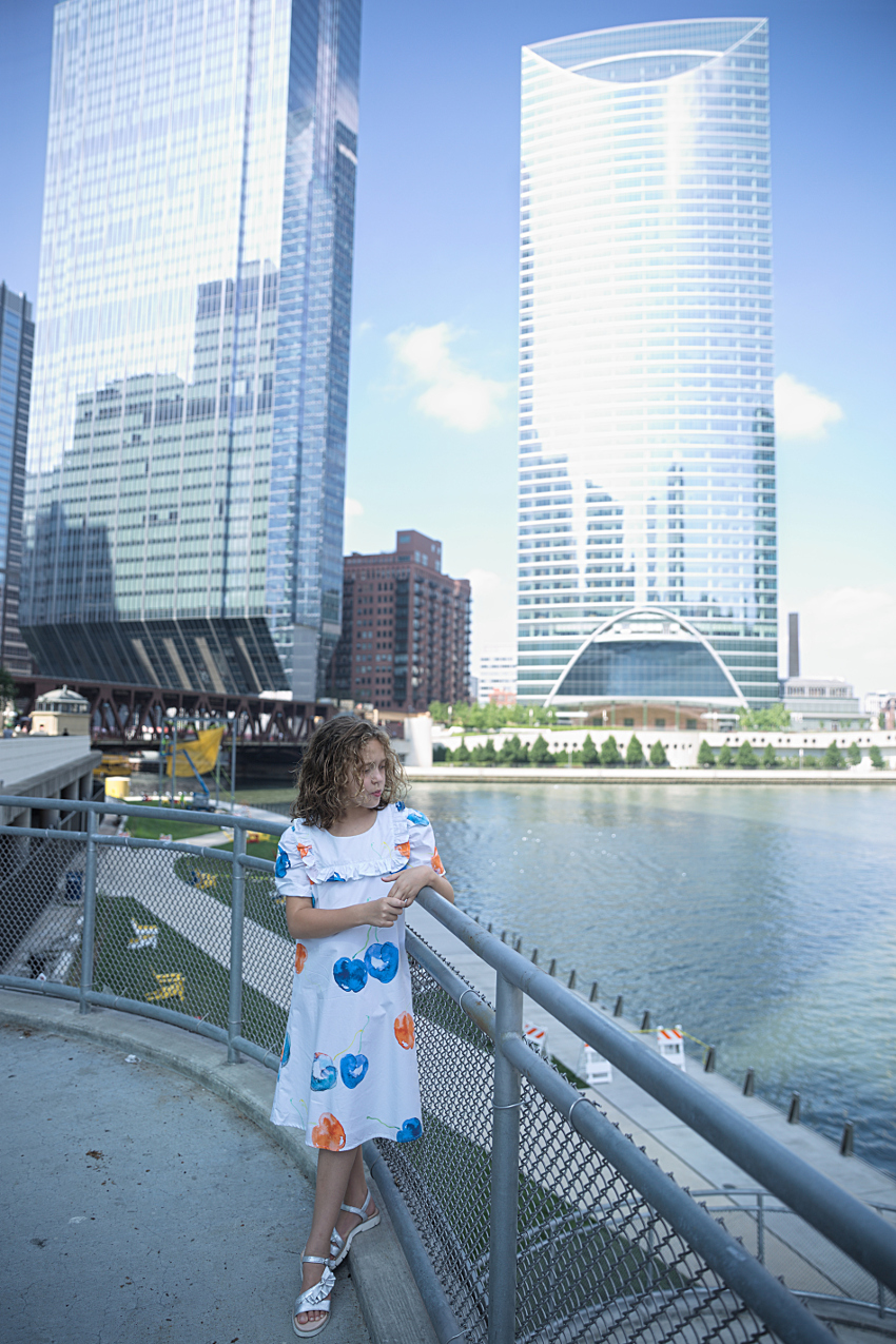Chicago river walk in MSGM kids