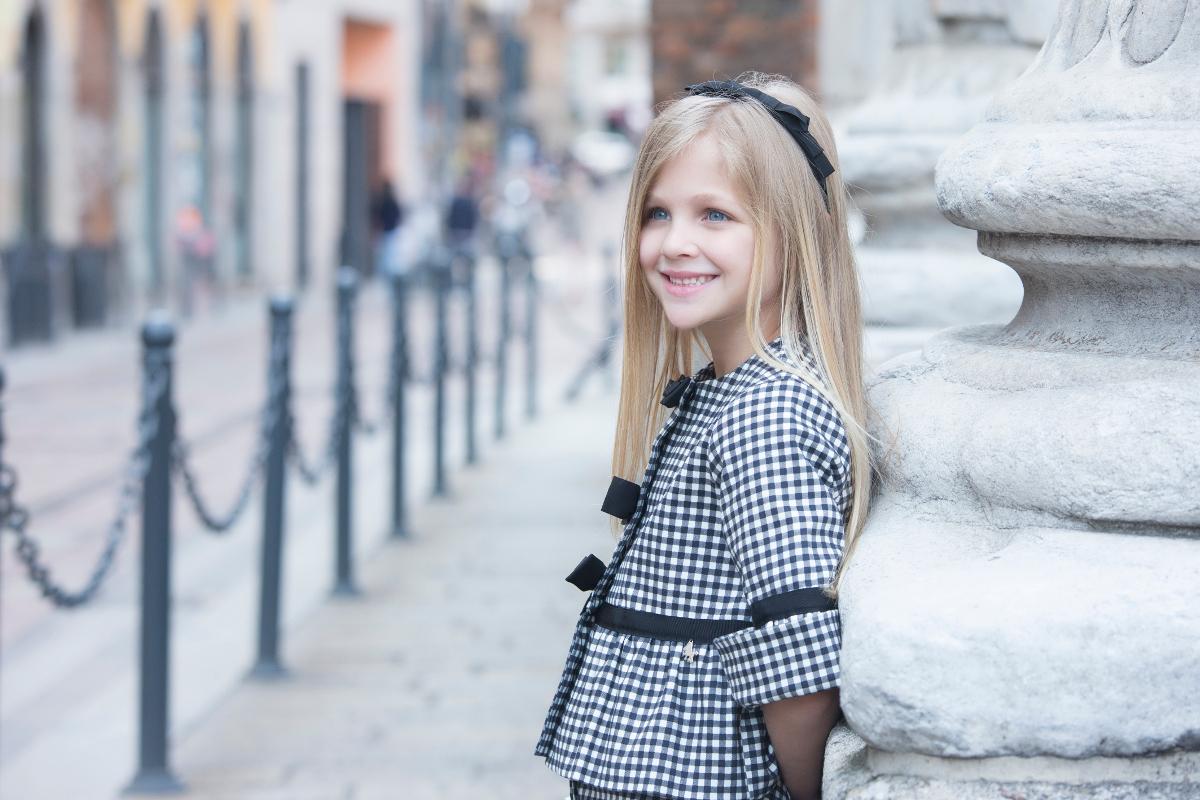 Total look Vichy print Miss Grant spring summer 2018