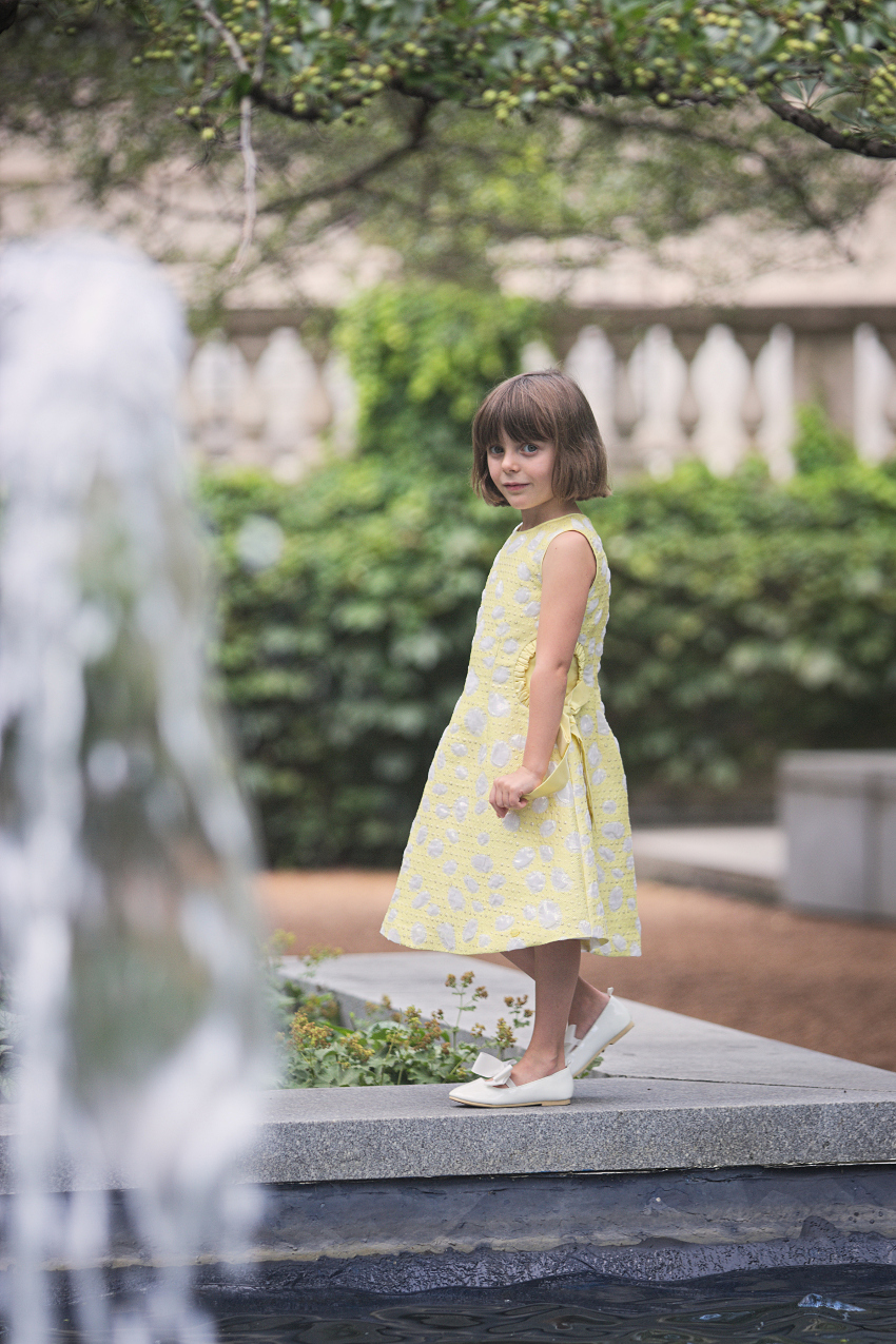 Art Institute Chicago gardens in Valmax Spring Summer 2019 elegant collection