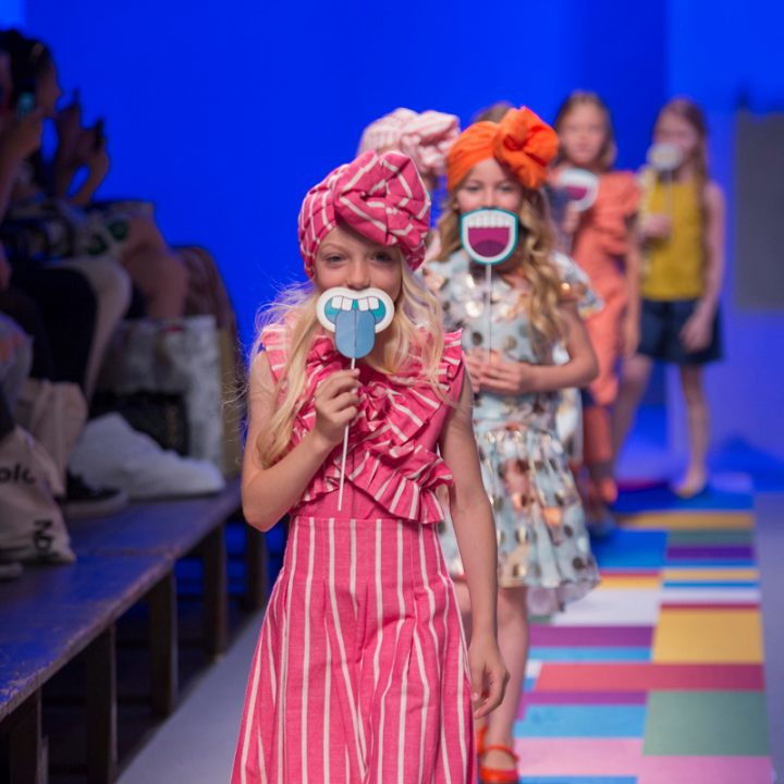 KidzFizz fashion show during Pitti Bimbo 87