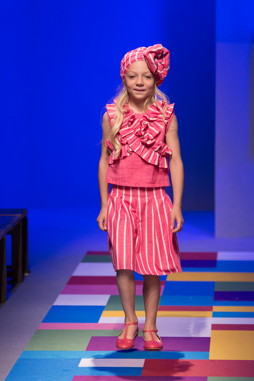 KidzFizz fashion show during Pitti Bimbo 87 Alitsa