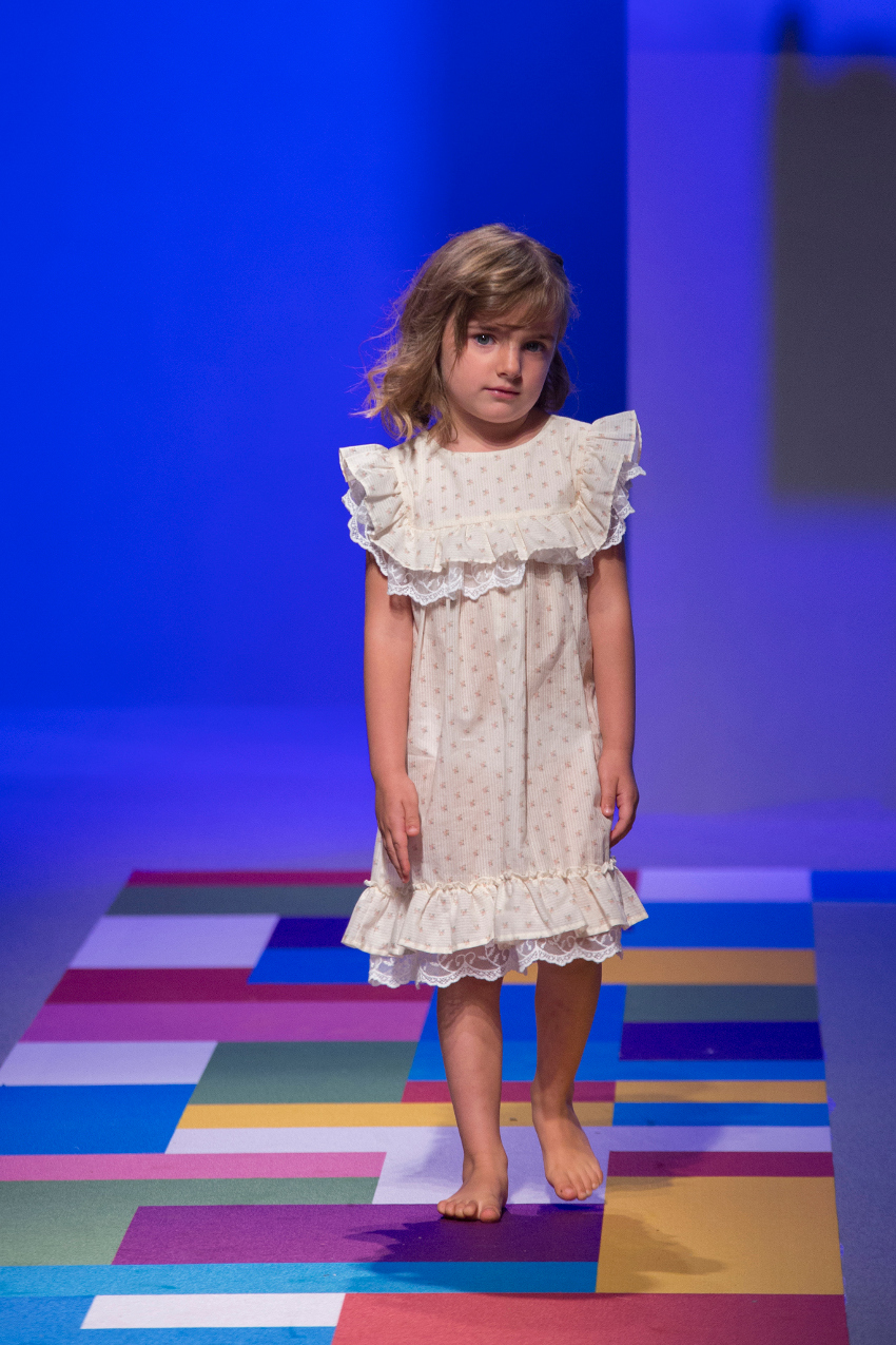 KidzFizz fashion show during Pitti Bimbo 87 Bebe Organic