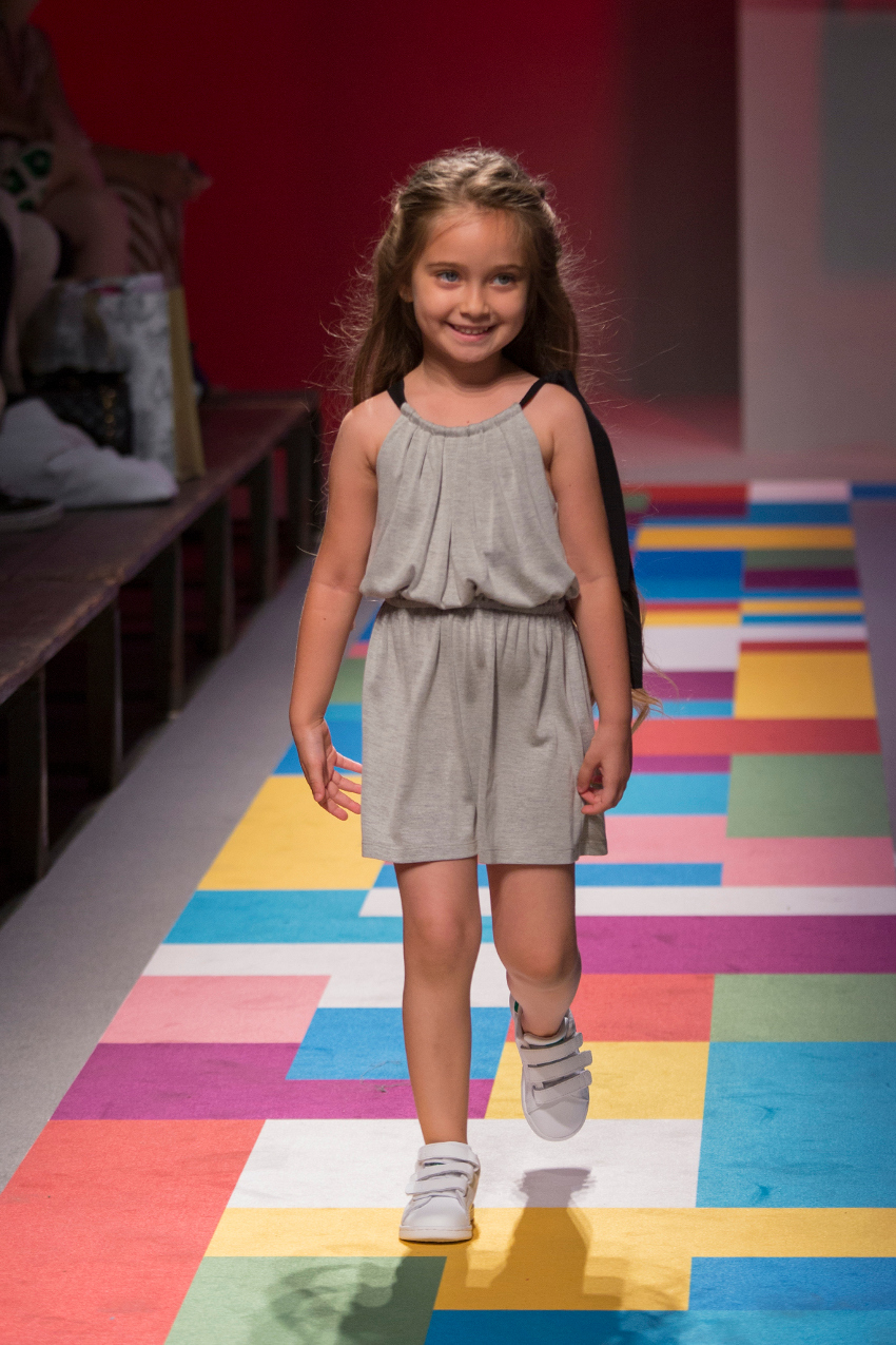 KidzFizz fashion show during Pitti Bimbo 87 dinui