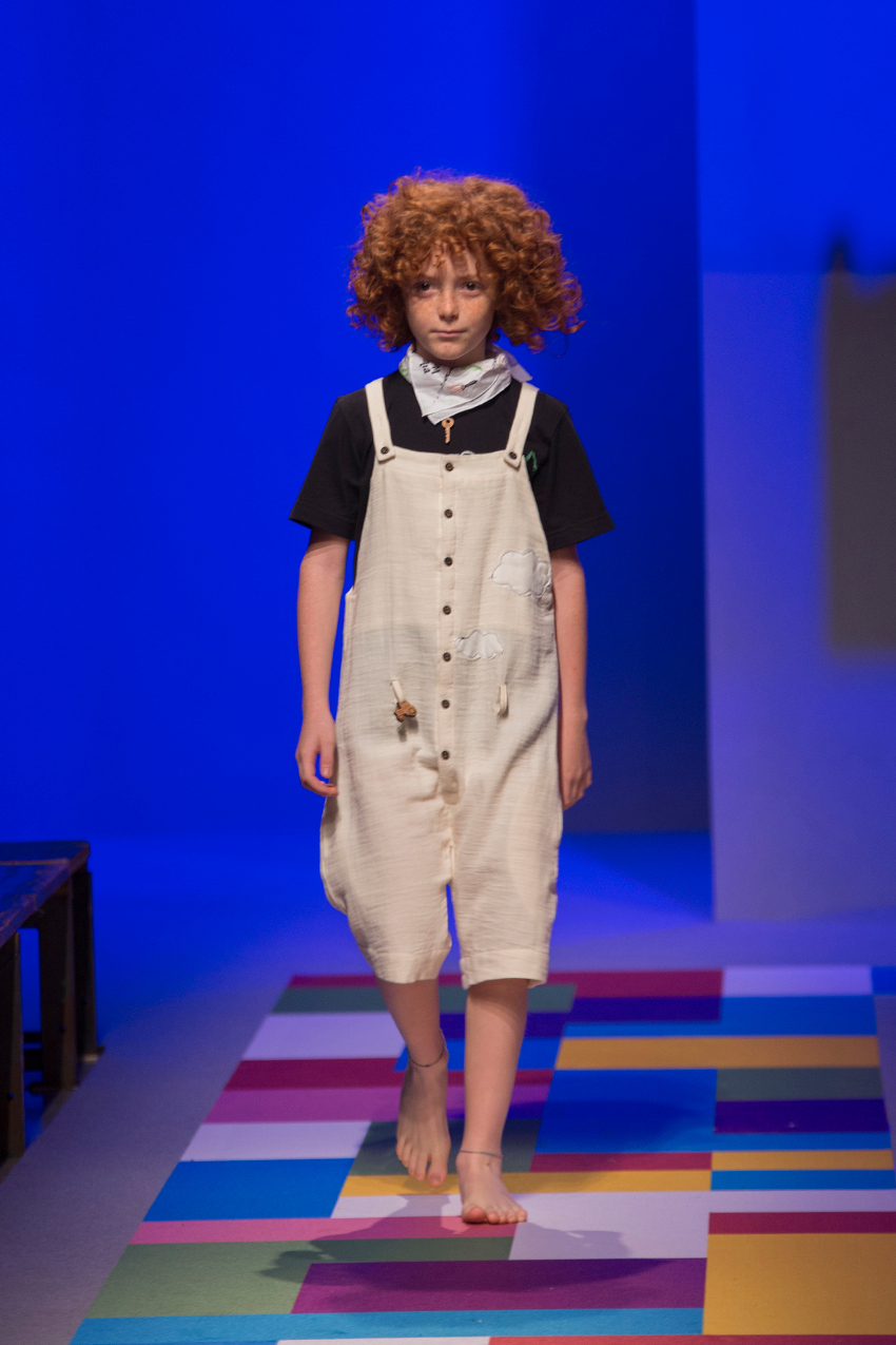 KidzFizz fashion show during Pitti Bimbo 87 Infantium Victoria