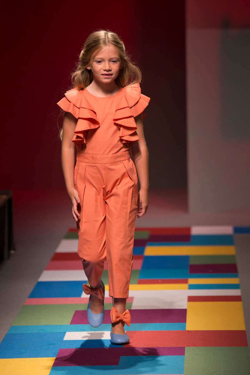 KidzFizz fashion show during Pitti Bimbo 87 Moque