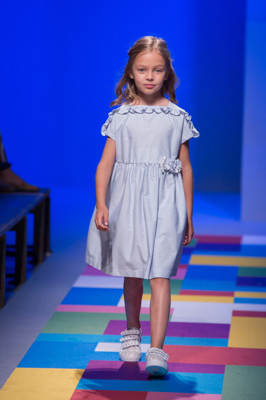 KidzFizz fashion show during Pitti Bimbo 87 l'orsobruno