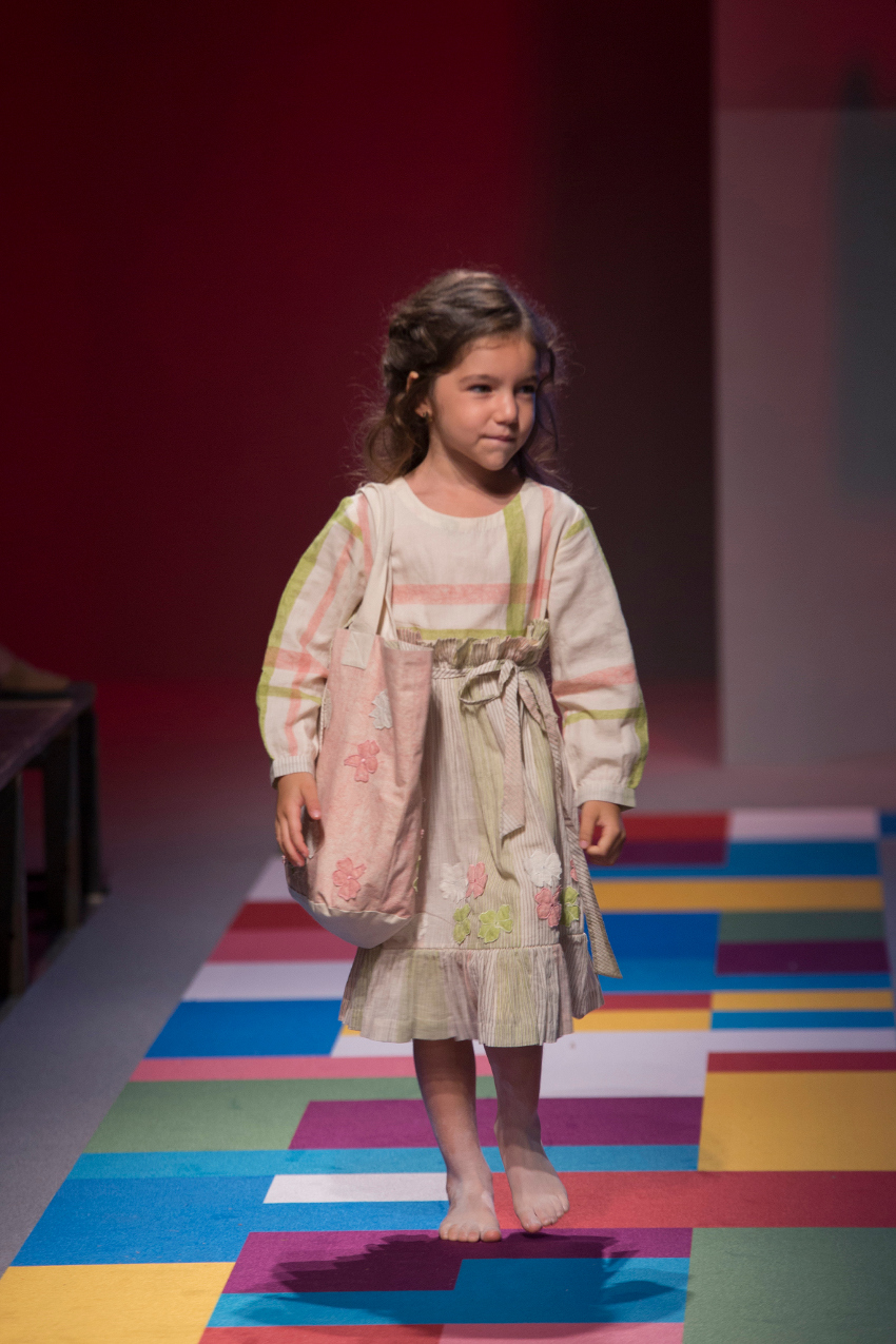 KidzFizz fashion show during Pitti Bimbo 87 vineetrahul