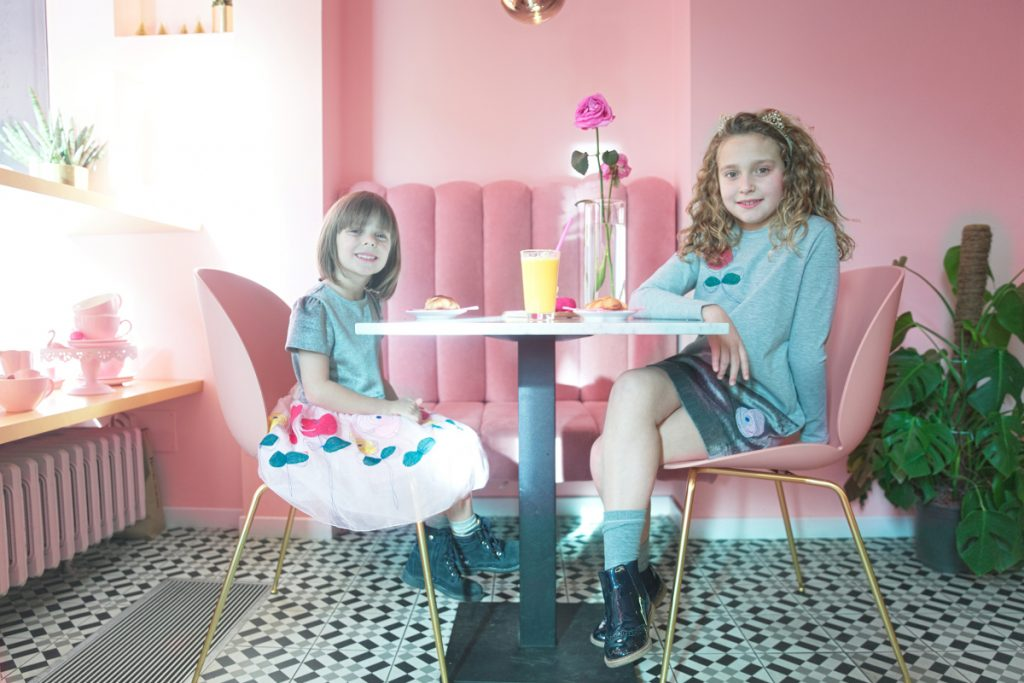 Rosa&Co cafe in Simonetta fall winter 2018