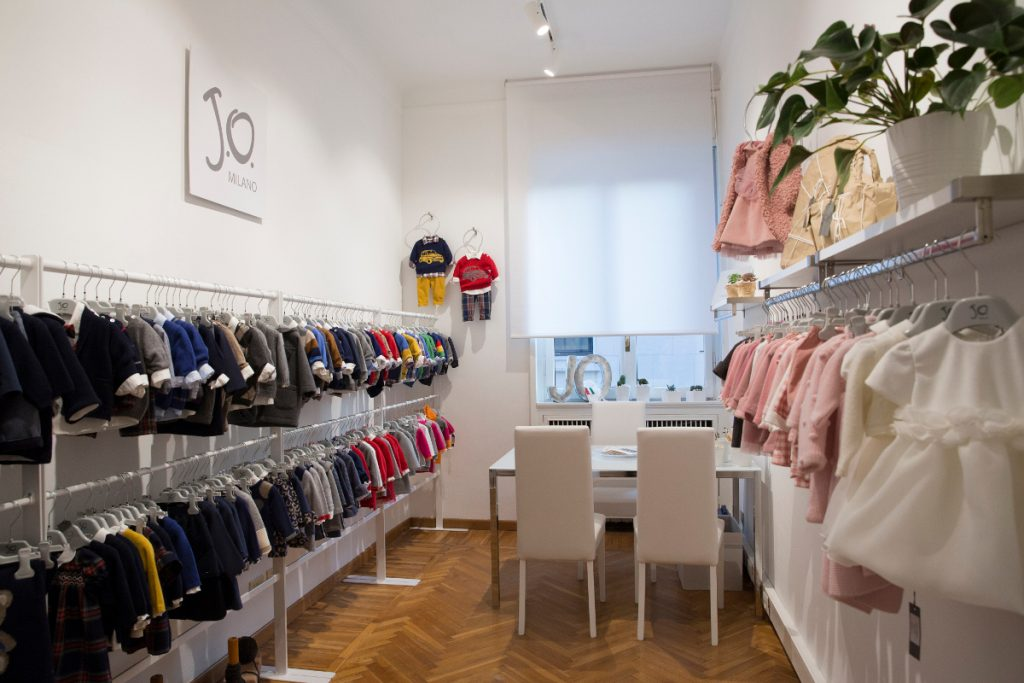 Italian kids fashion new opening Jo Milano