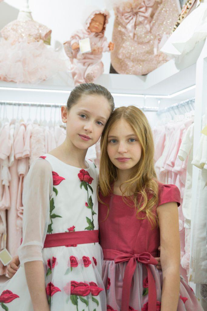Italian kids fashion new opening Ladia