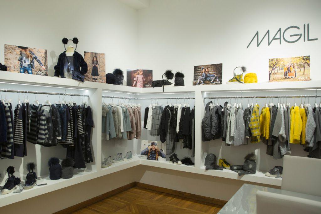 Italian kids fashion new opening Magil