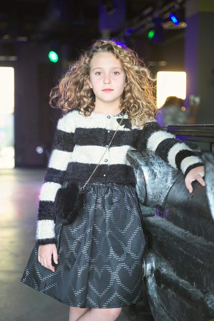 Sarabanda black dress