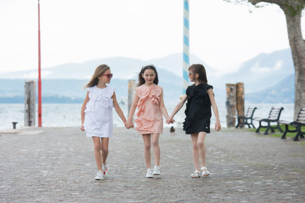 Lake Garda in Simonetta spring summer 2019